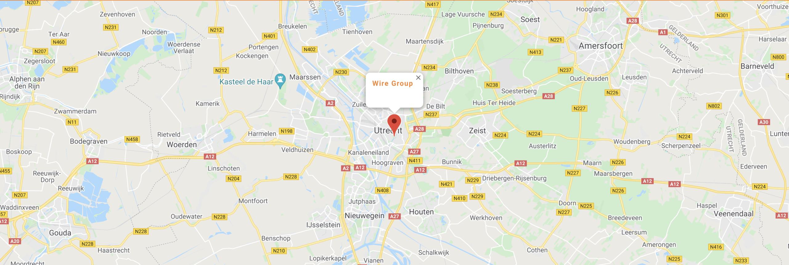Wire-group-locatie